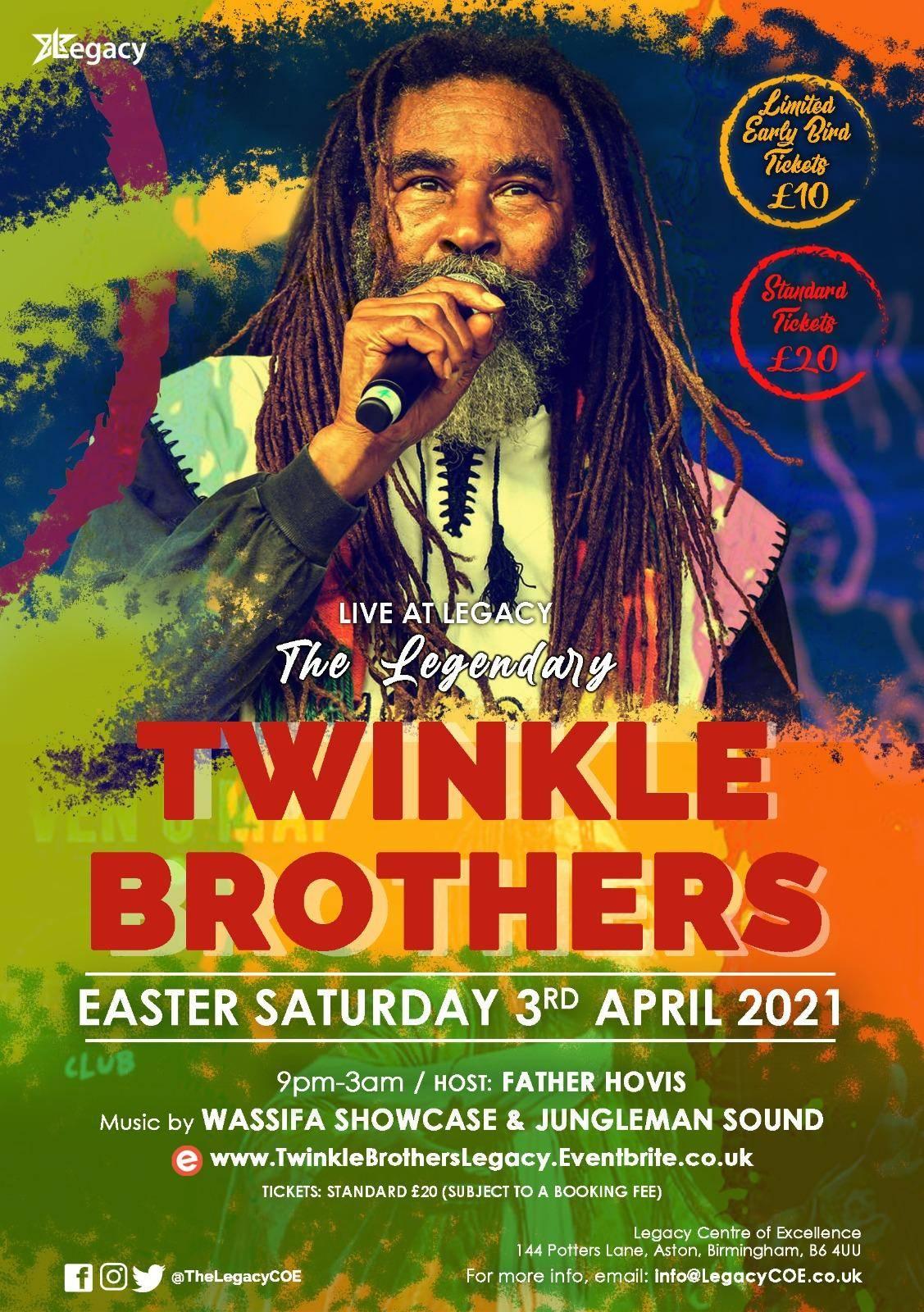 Twinkle Brothers Live @ Legacy - blacknet