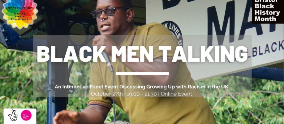 Black Men Talking Cover Image
