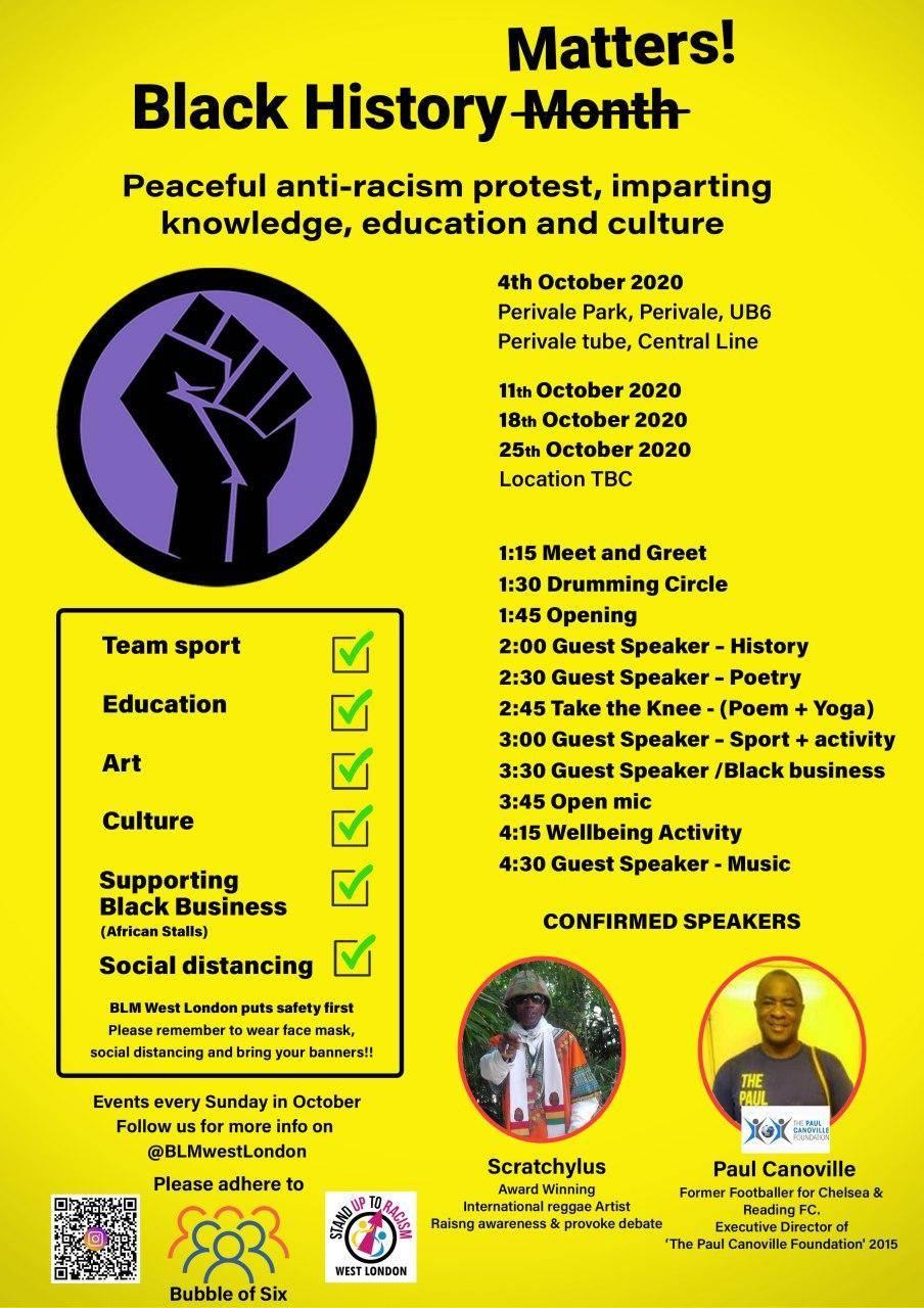 Community Circle - Black History Matters - blacknet
