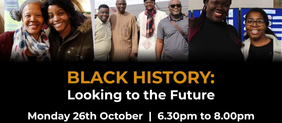 Black History: Looking to the Future Webinar Cover Image