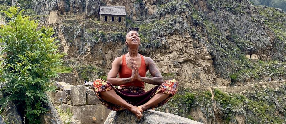 Unapologetically Black Yoga for Black people Cover Image
