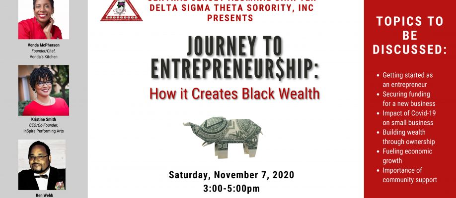 JOURNEY TO ENTREPRENEUR$HIP: How It Creates Black Wealth Cover Image
