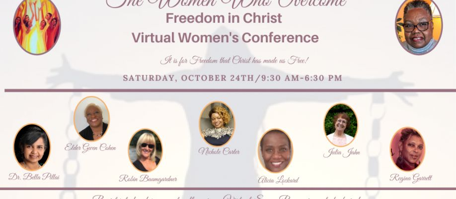 The Women Who Overcome 2020 Virtual Women's Conference Cover Image