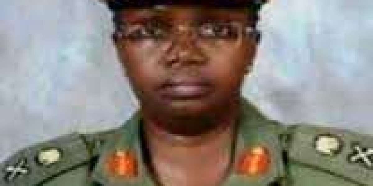 The first female major-general in the Nigerian Army