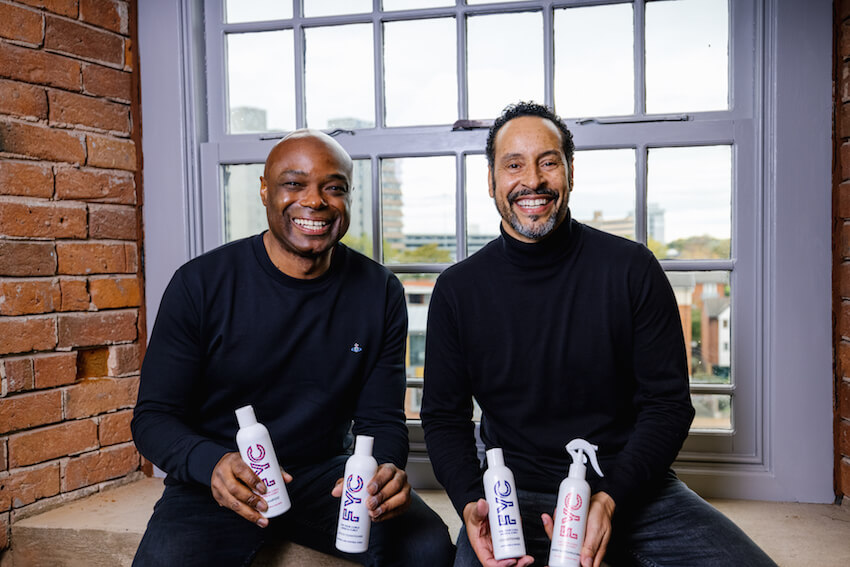 Dads launch haircare brand to cater for curls - Voice Online