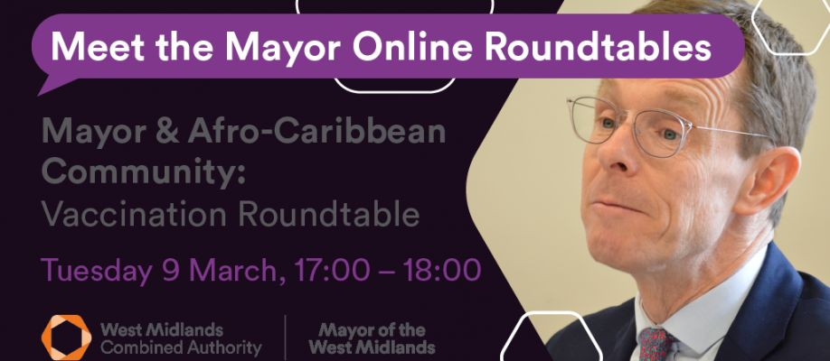 Vaccination Roundtable for the African-Caribbean Community
