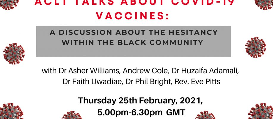 BLACK PEOPLE: LET'S TALK ABOUT COVID-19 VACCINES