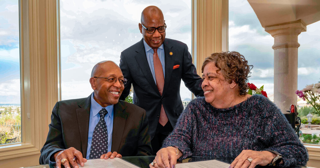 Calvin Tyler Pledges $20 Million to Morgan State - The New York Times