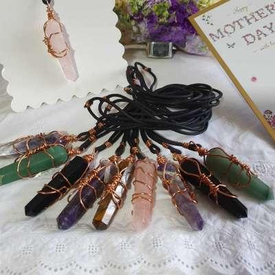 Quartz necklaces Profile Picture